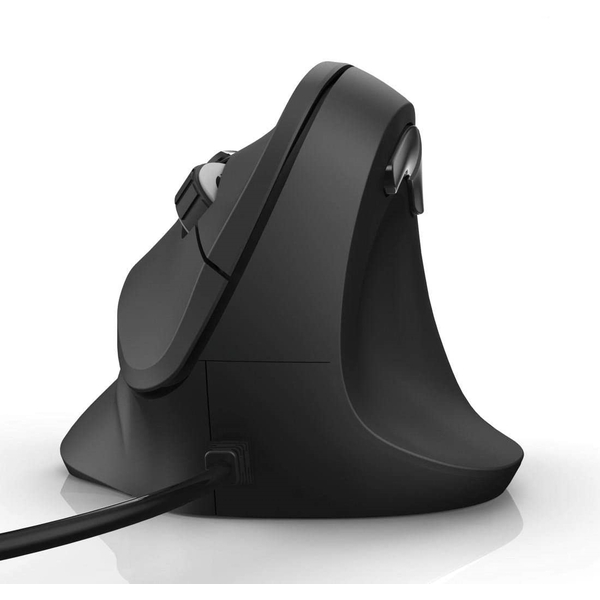 Hama Vertical Ergonomic EMC-500 Mouse Cabled 6 Buttons black