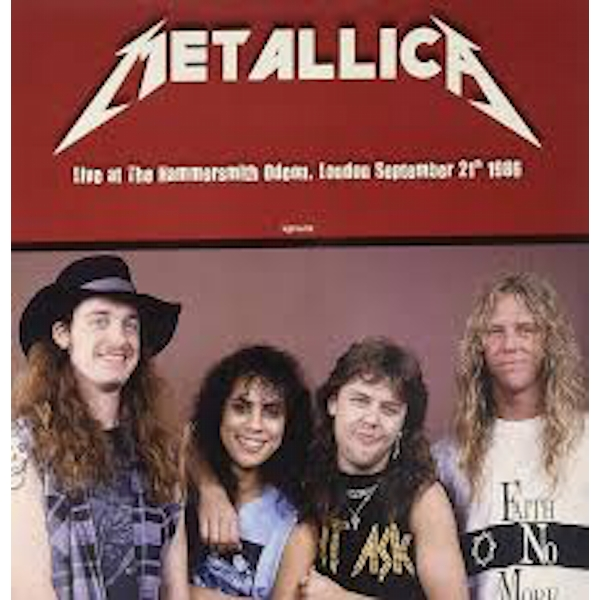 Metallica ‎– Live At The Hammersmith Odeon London September 21th 1986 Red Vinyl