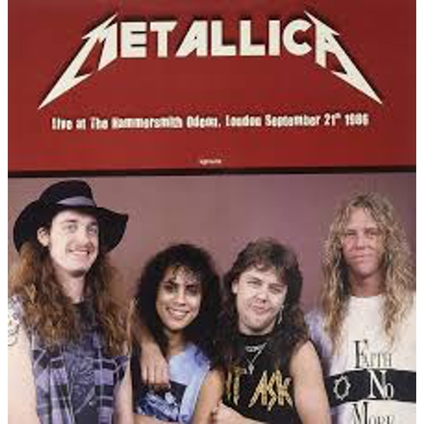 Metallica – Live At The Hammersmith Odeon London September 21th 1986 Red Vinyl