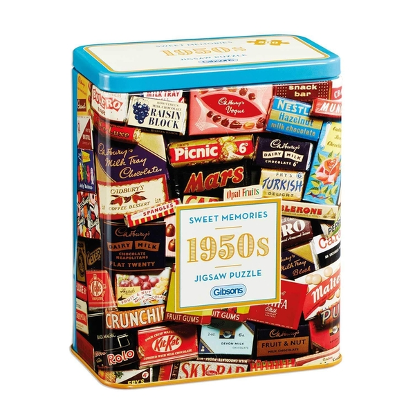 Gibsons 1950's Sweet Memories Jigsaw Puzzle - 500 Pieces