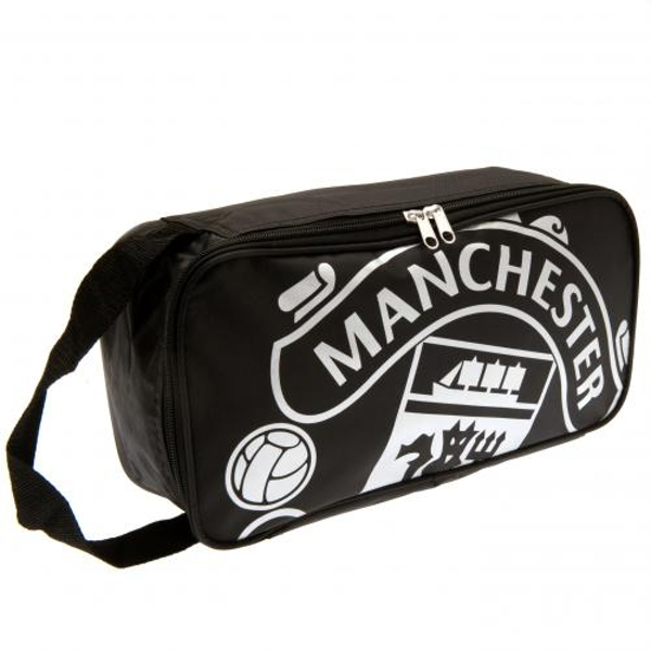 Manchester United FC Black Boot Bag