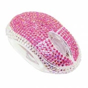 Satzuma Diamante Mouse Pink
