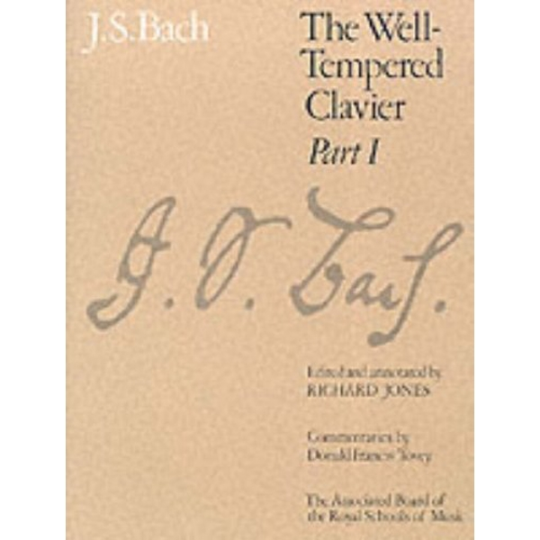 The Well-Tempered Clavier, Part I  1994 Sheet music