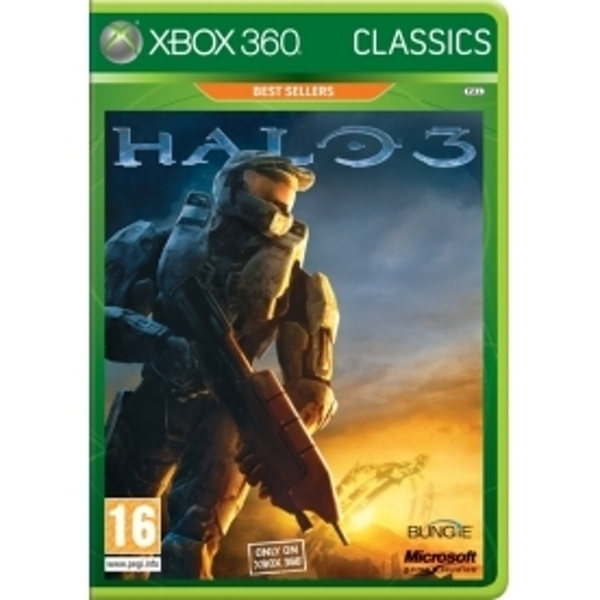 Pre-owned Halo 3 Game (Classics) Xbox 360 Used - Good