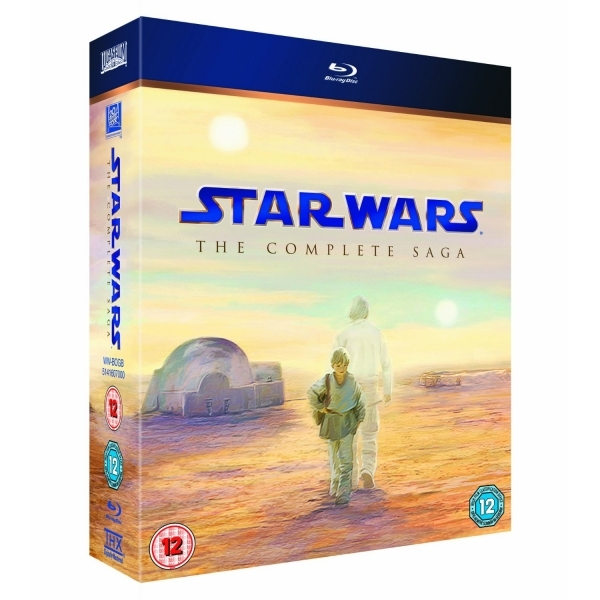 Star Wars The Complete Saga Episodes I-VI Blu-ray