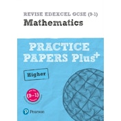 REVISE Edexcel GCSE (9-1) Mathematics Higher Practice Papers Plus: for the 2015 qualifications by Jean Linksy, Navtej Marwaha (Paperback, 2016)