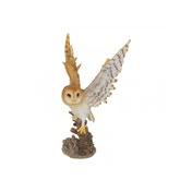 Forest Flight Owl Statue