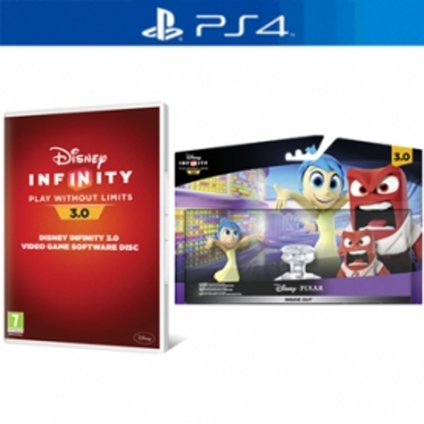Disney Infinity 3.0 Pixar Inside Out Play Set & PS4 Game - shop4de.com