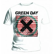Green Day Xllusion Mens White T Shirt: Large