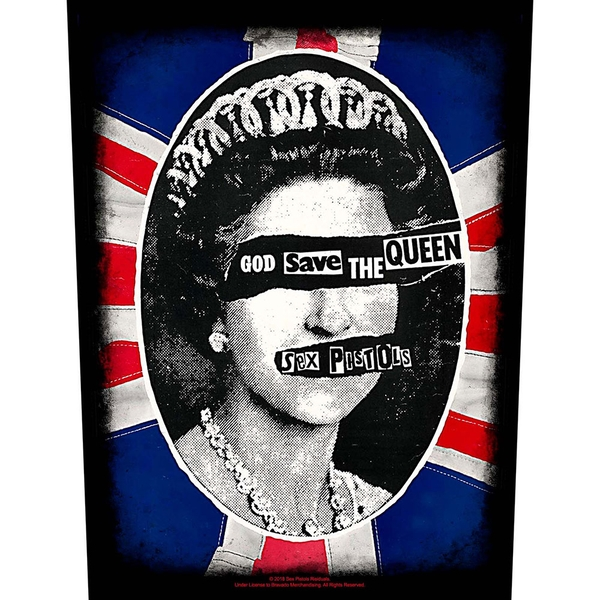 The Sex Pistols - God Save the Queen Back Patch