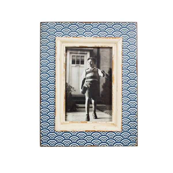 Sass & Belle Blue Wave Photo Frame