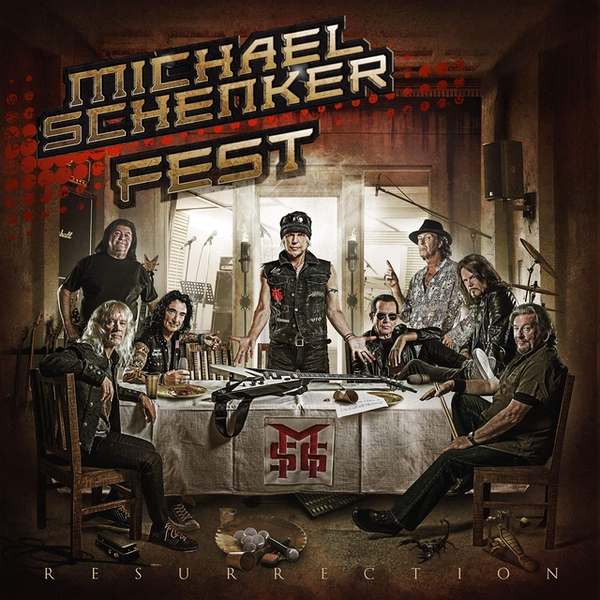 Michael Schenker Fest - Resurrection Limited Double Gatefold Etched  Vinyl
