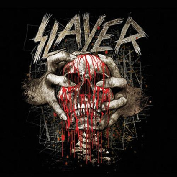 Slayer - Skull Clench Single Cork Coaster