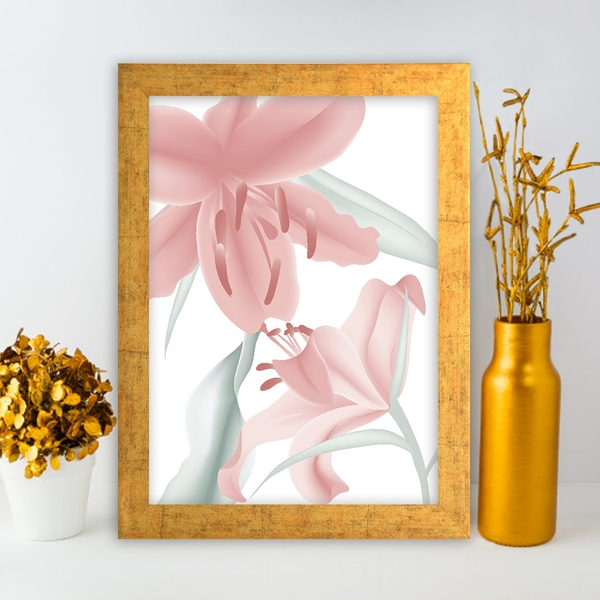 AC10693845052 Multicolor Decorative Framed MDF Painting