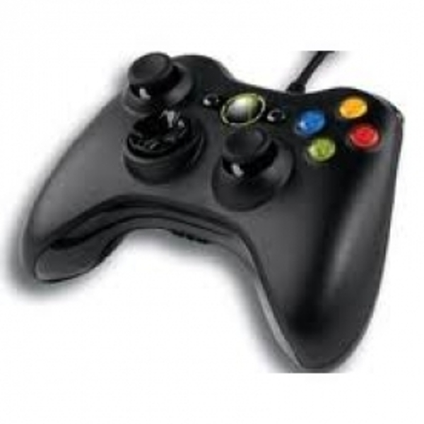 Microsoft Xbox 360 Wired Controller Black for Windows PC - Image 2