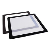 DEMCiflex Dust Filter 200mm Square - Black/White