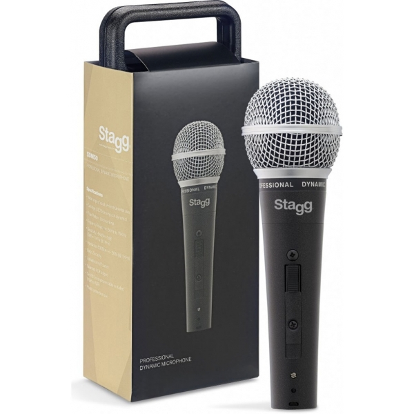 Stagg SDM50 Professional Cardioid Dynamic Microphone
