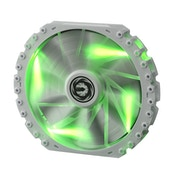 BitFenix Spectre PRO 230mm Green LED Fan - White