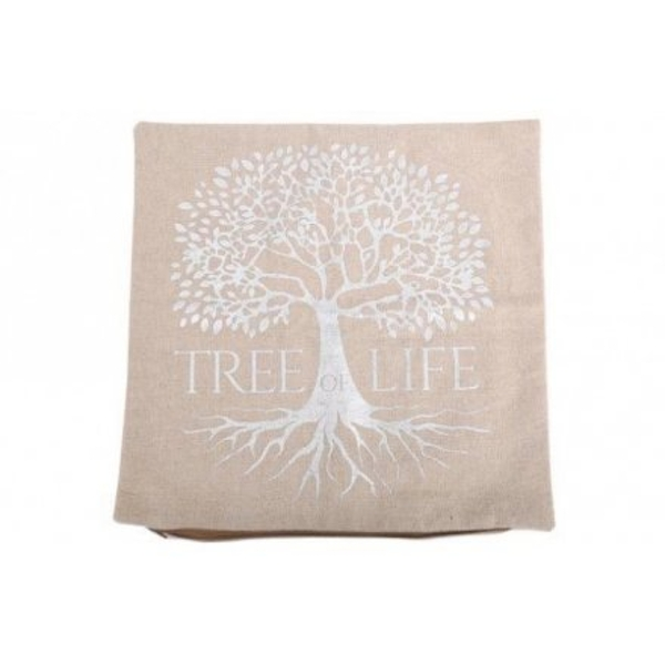 Natural Tree Of Life Cushion