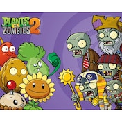 Plants Vs Zombies 2 Cast Mini Poster