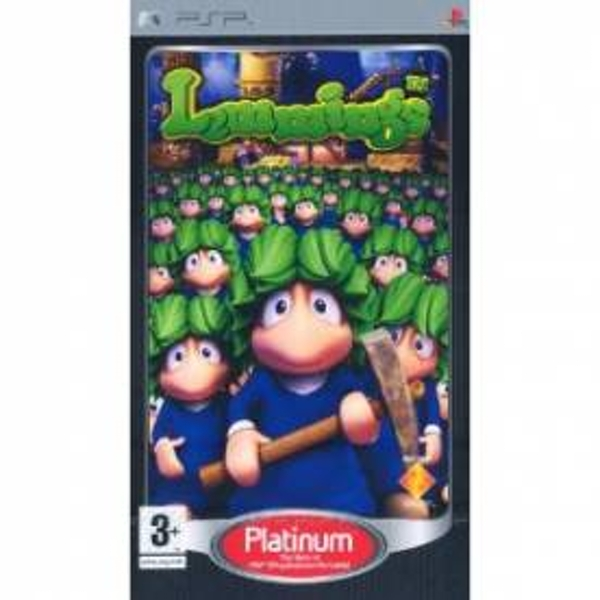 Lemmings Game (Platinum) PSP