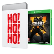 Call Of Duty Black Ops 4 Xbox One Game + Christmas Gift Tin