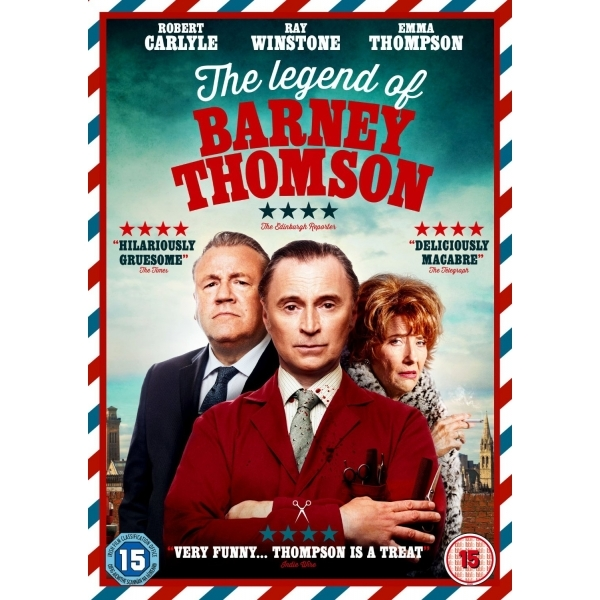 The Legend of Barney Thomson DVD