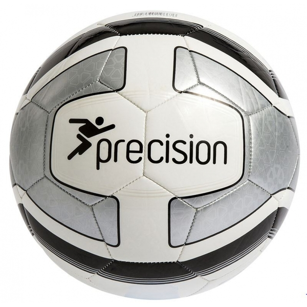 4d46a0061 Hey! Stay with us... Precision Santos Training Ball White/Silver/Black Size  4