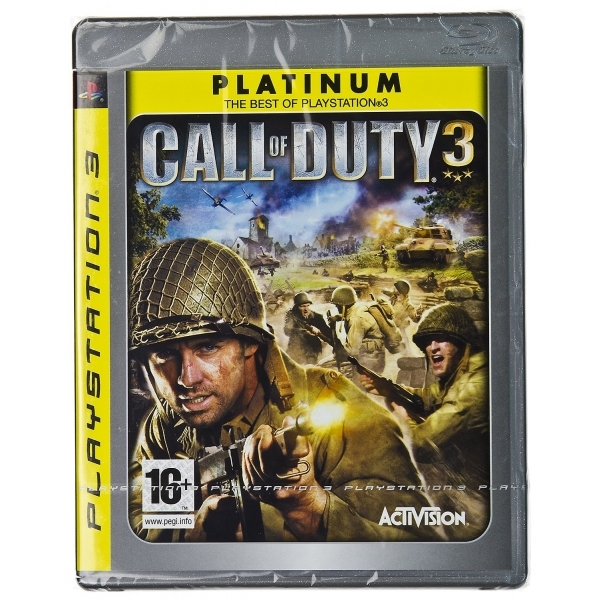 Call of Duty 3 Game (Platinum) PS3