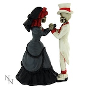 Devoted To You Skeleton Figurine