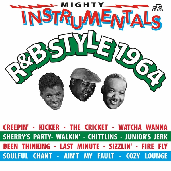 Various ‎– Mighty Instrumentals R&B-Style 1964 Vinyl