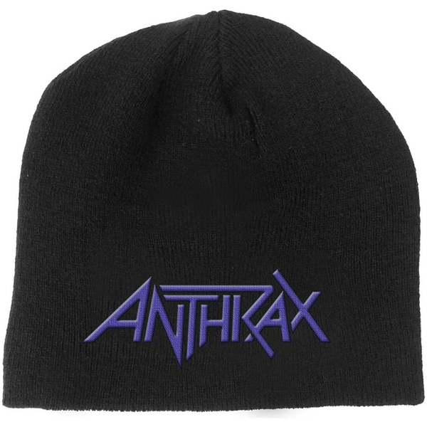 Anthrax - Logo Men's Beanie Hat - Black