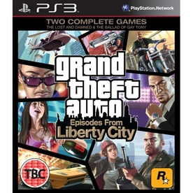 Grand Theft Auto GTA Episodes From Liberty City Game PS3