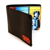 Doctor Who Black Faux Leather Wallet