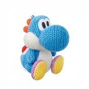 Blue Yarn Yoshi Amiibo (Yoshi's Woolly World) for Nintendo Wii U & 3DS