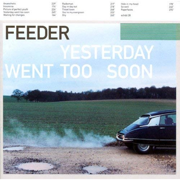 Feeder The Smiths - Yesterday Went Too Soon CD