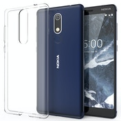 CASEFLEX NOKIA 5.1 ULTRA THIN TPU GEL - CLEAR