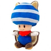 Super Mario Plush Flying Toad Blue 20cm