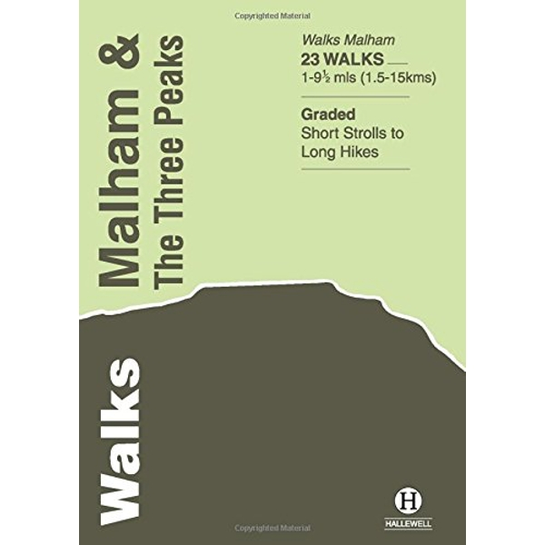 Walks Malham and the Three Peaks by Richard Hallewell (Paperback, 2008)