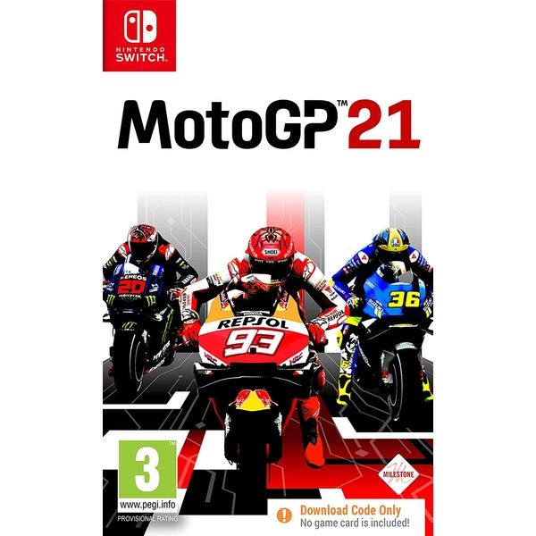 MotoGP 21 PS4 Nintendo Switch Game [Code in a Box]