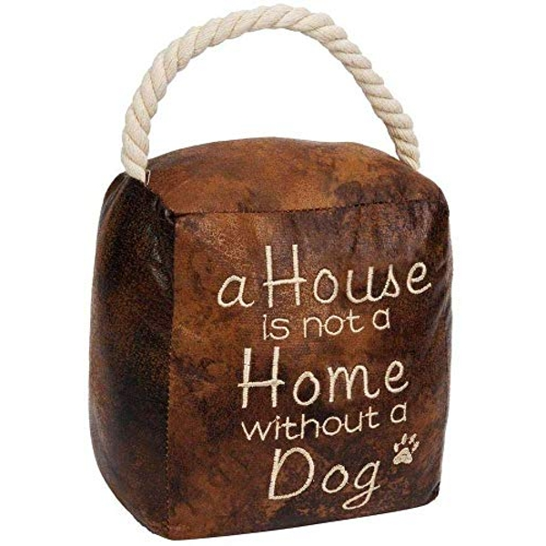 Home Living Door Stop - A House is Not A Home Without A Dog