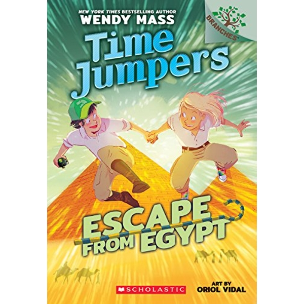 Escape from Egypt: A Branches Book (Time Jumpers #2)  Paperback 2018