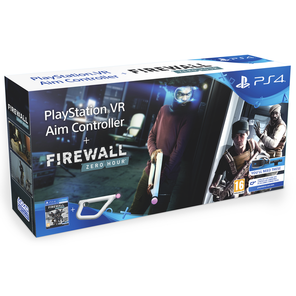 Firewall Zero Hour with PlayStation VR Aim Controller PS4 Game (PSVR Required)
