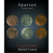 Legendary Metal Coins Spartan Coin Set