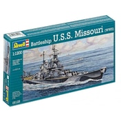 Model Set Battleship U.S.S. Missouri