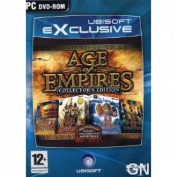 Age Of Empires Collectors (Limited) Edition Game PC