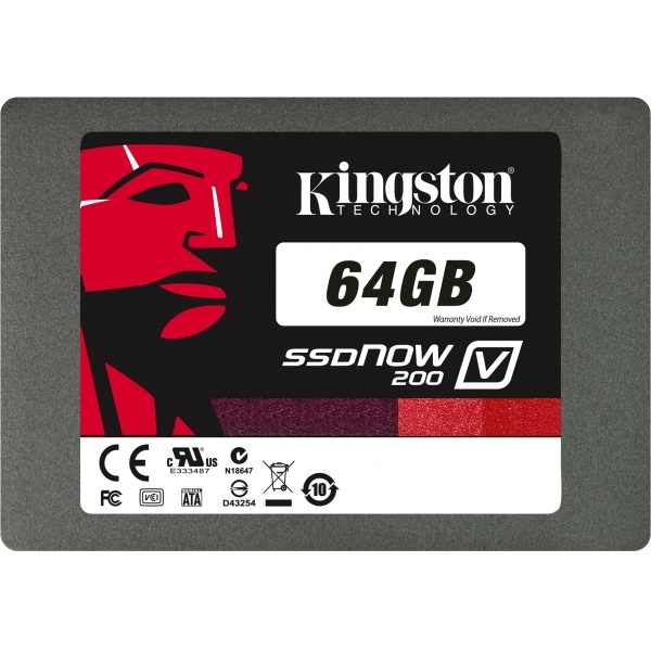 64GB SSD V200 Series 2.5,7mm SATA Drive SV200S37A/64G