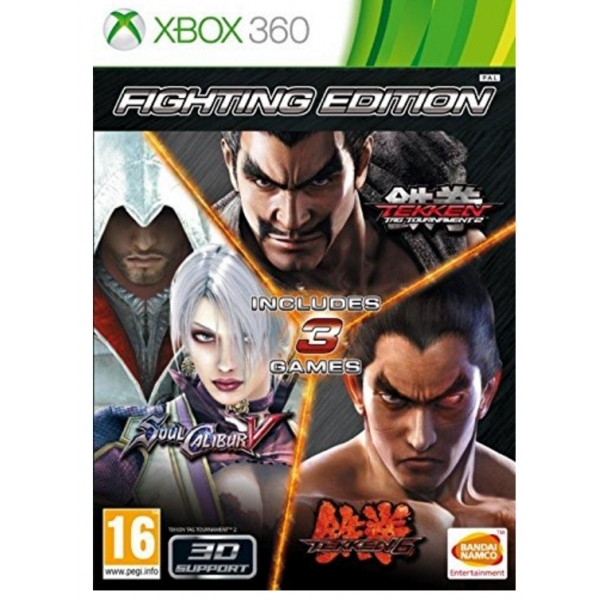 Fighting Edition (Tekken Tag Tournamament 2/Soul Calibur V/Tekken 6) 360 Game