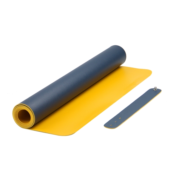 Large Desk Mat | M&W Blue/Yellow - Image 1