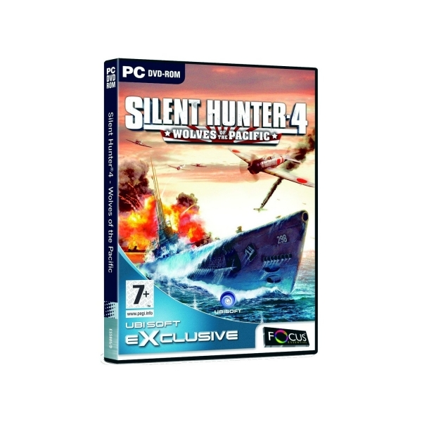 Silent Hunter 4 Wolves Of The Pacific Game PC